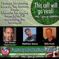 Everyone Has A CHANCE with the Fantasy Marketing League