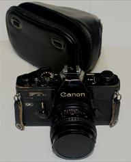 Vintage Collectible Canon FTb QL Black Body 28 mm