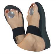 Button Flip Flop (1 1 2inch heel)