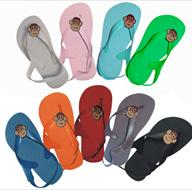 Monkey Rally Toddler Flip Flops