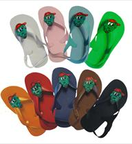 Alligator Rally Toddler Flip Flops