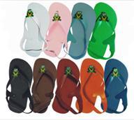 Frog Rally Toddler Flip Flops