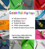 Personalize Flip Flops