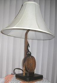 Sailing VesselThe DOVE Nautical Lamp made from one of