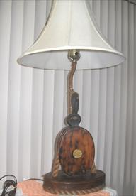 Sailing VesselThe DOVE Nautical Lamp made from one of 1isting