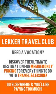 Lekker Travel Club   best priced travel deals